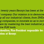 KEONYS forms a partnership with Arts et Métiers PARISTECH