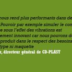 Keonys vend la solution Abaqus à CD-PLAST