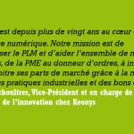 Partenariat entre Keonys et Arts et Métiers ParisTech