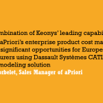 KEONYS and APRIORI target product costs for manufacturers with new industry partnership