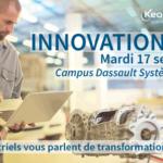 La rentrée chez KEONYS : Innovation Day le 17/09 sur le campus de Dassault Systèmes