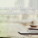 How can I use my Dassault Systèmes license remotely?