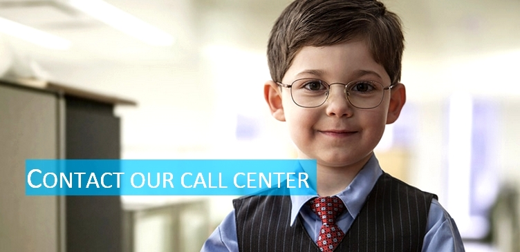Contact our call center