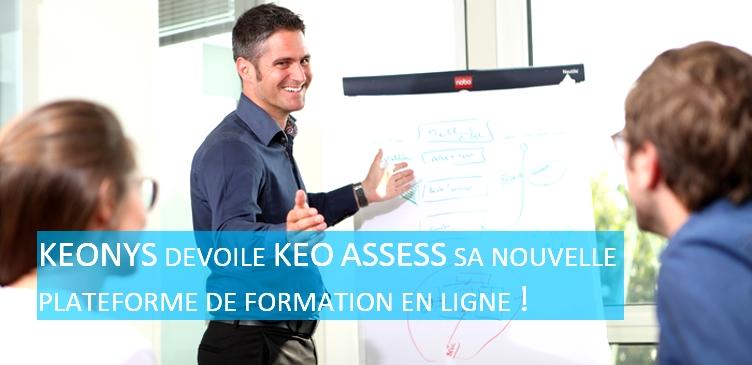 KEONYS dévoile KEO ASSESS sa nouvelle plateforme de formation en ligne !