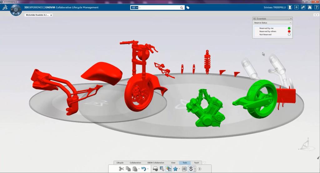 La 3DEXPERIENCE de Dassault Systèmes, un environnement collaboratif