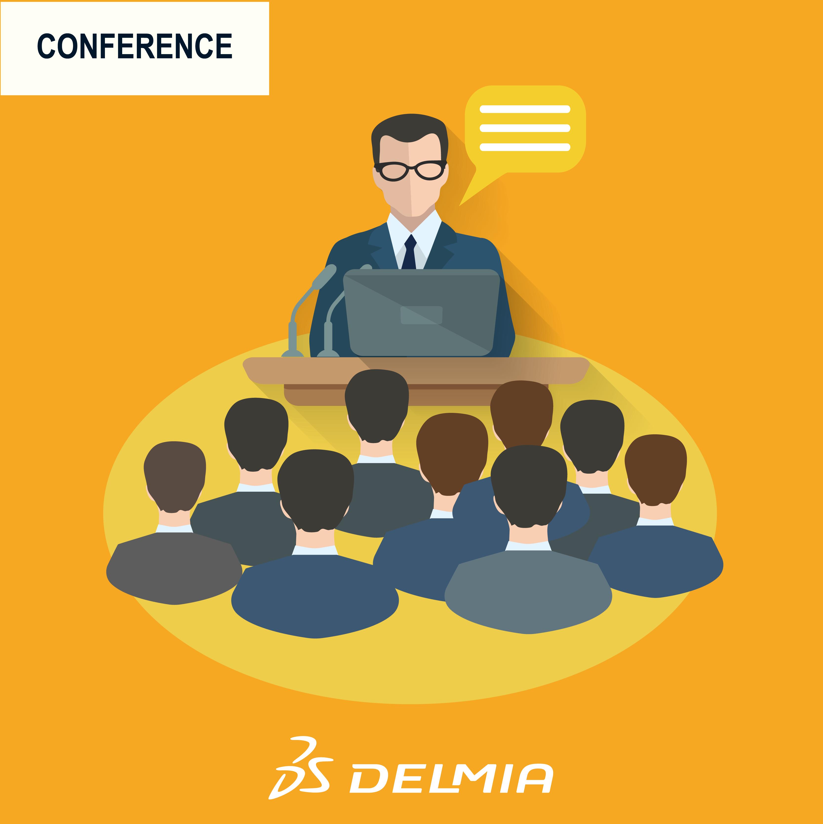 ÉVÉNEMENT – DELMIA Community Summit 2018 – Jeudi 15.11.2018, Campus Dassault Systèmes (Vélizy)