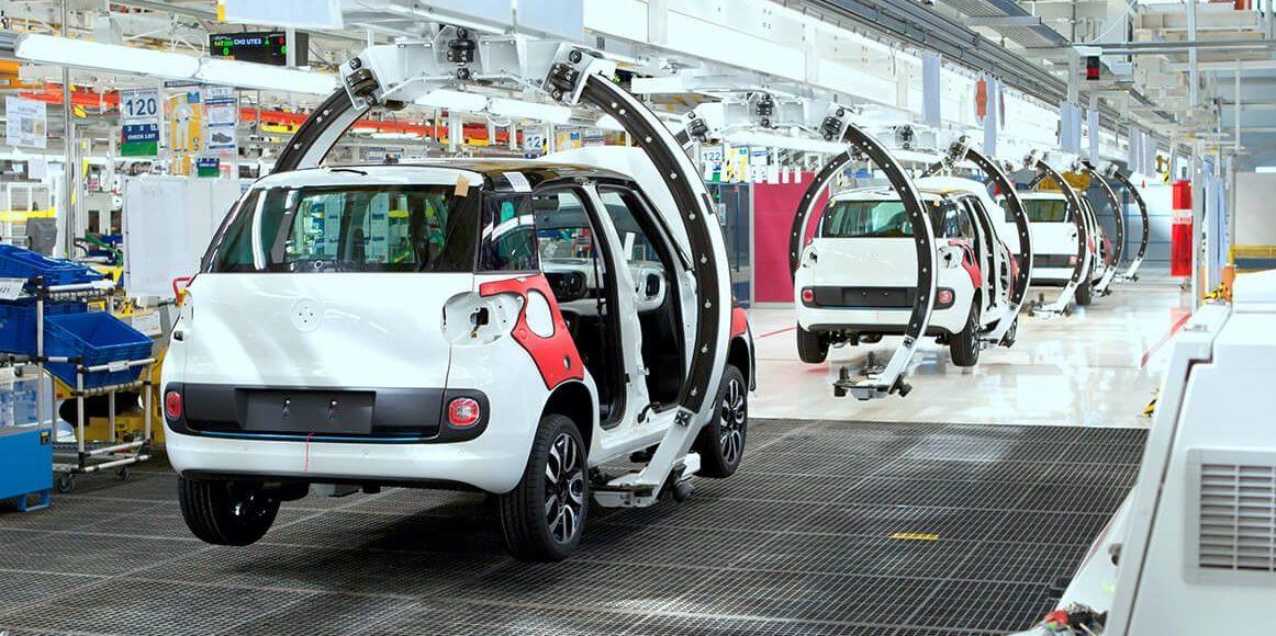 transport mobilité ligne de production