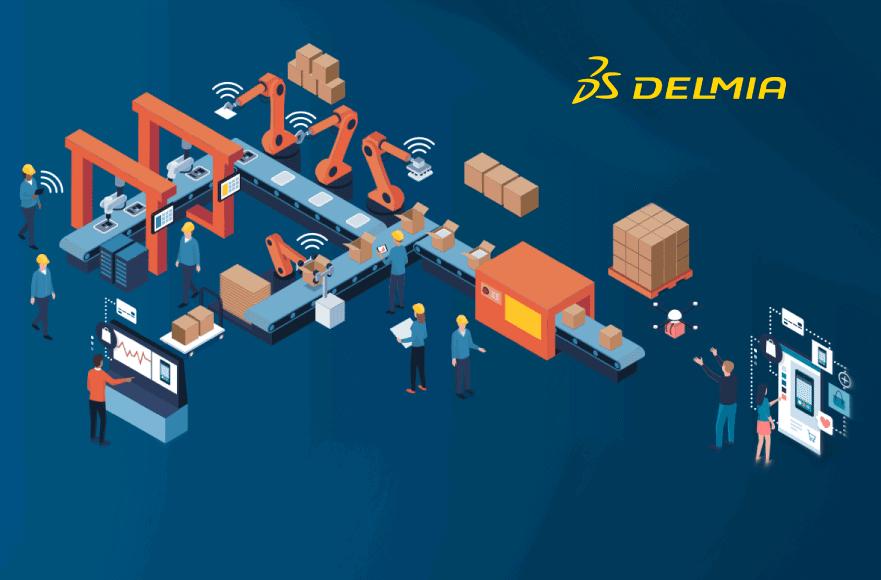 manufacturing DELMIA