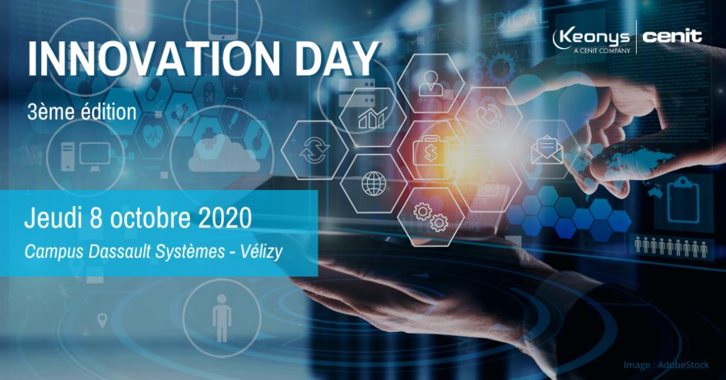 Innovation Day 2020 transformation numérique KEONYS Dassault Systèmes