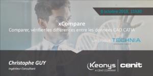 webinaire xcompare 3dexperience logiciel